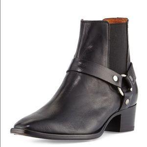 Frye Dara harness Chelsea boots
